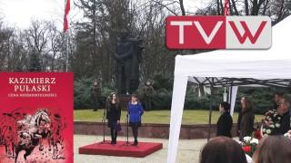Obchody 271 Rocznicy Urodzin Kazimierza Pułaskiego – 4 marca 2016
