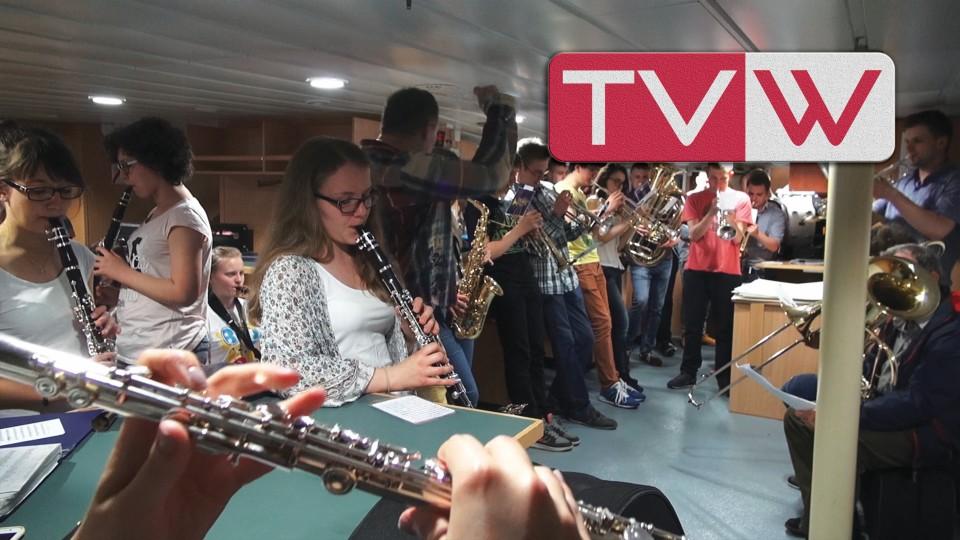 Rok 2016 – 19 maja Próba Generalna Orkiestry Moderato przed Koncertem w Gdyni