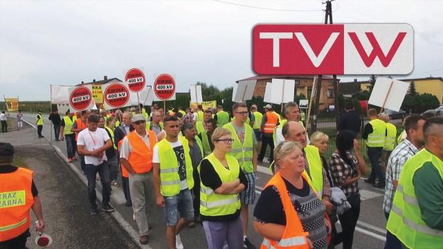 Blokada Drogi Krajowej w Piasecznie Przeciwko Budowie Linii 400kV – 26 czerwca 2016