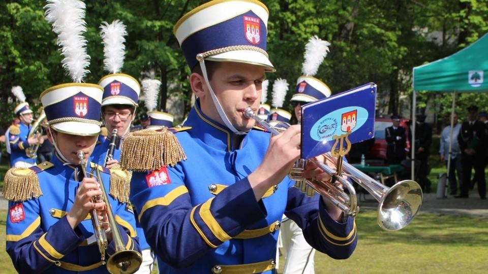 Musztra paradna Moderato zaprezentowana podczas Festiwalu w Niemczech – 1 lipca 2016