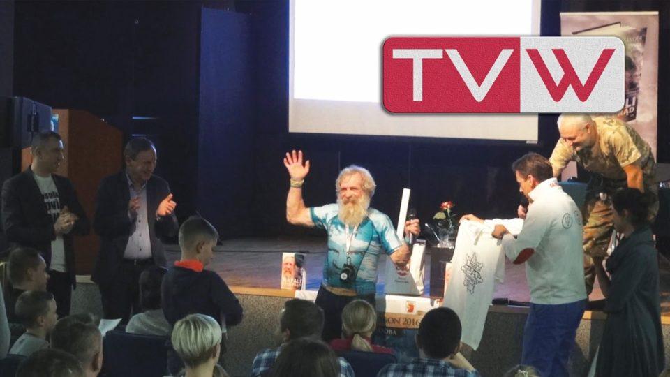 Spotkanie z podróżnikiem Aleksandrem Dobą w Górze Kalwarii – 21 października 2016