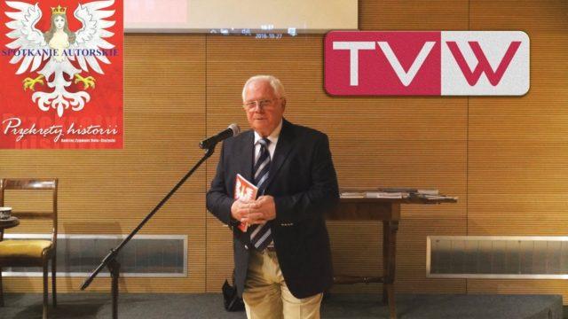 Spotkanie autorskie z Andrzejem Rola Stężyckim w Warce – 27 października 2016