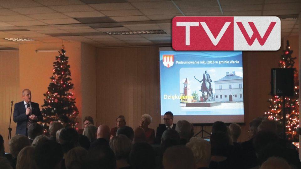 Podsumowanie roku w Gminie Warka – 17 grudnia 2016