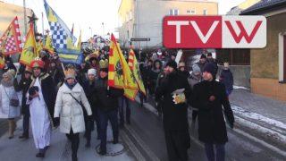 Orszak Trzech Króli przeszedł ulicami Warki – 6 stycznia 2017
