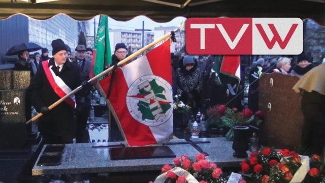 Pożegnanie Władysława Gwardysa Honorowego Obywatela Warki – 4 stycznia 2017