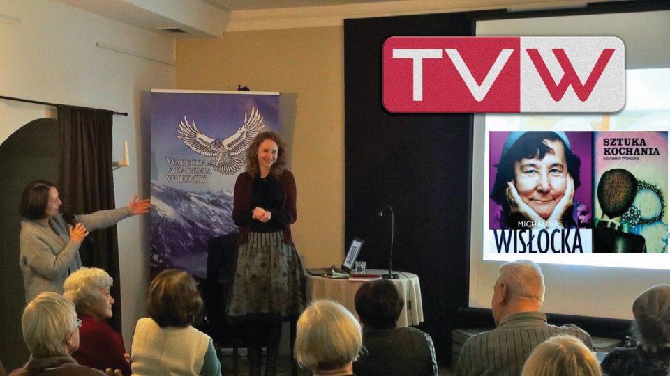 """Wykład w WAW Michalina Wisłocka """"Sztuka Kochania"""" – 9 lutego 2017"""