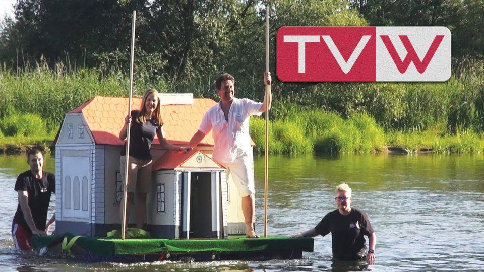 3 Spływ na byle czym rzeką Pilicą w Warce – 13 sierpnia 2017