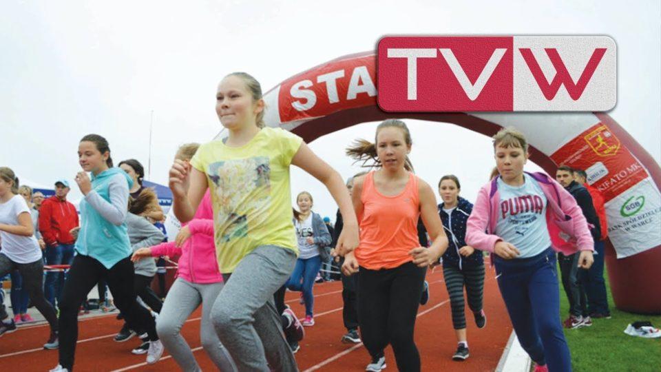 Jesienne biegi szkolne i rodzinne na stadionie w Warce – 17 września 2017