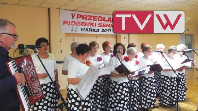 V Przegląd Piosenki Seniora w Warce – 23 września 2017