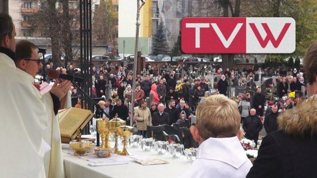 Dzień Wszystkich Świętych na starym cmentarzu w Warce – 1 listopada 2017