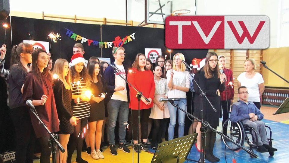 Wspólne kolędowanie w Zespole Szkół im. 1PLM w Warce – 19 grudnia 2017