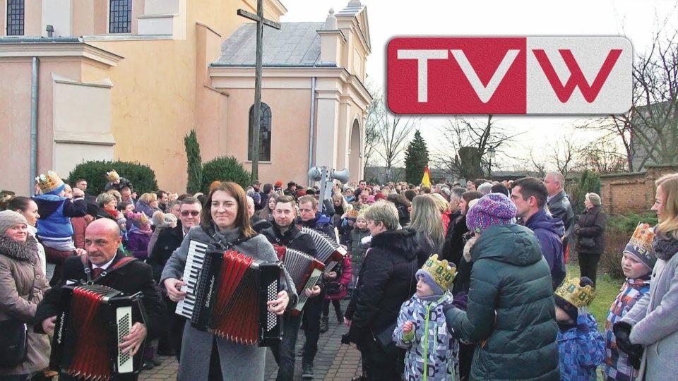 Orszak Trzech Króli przeszedł ulicami Warki – 6 stycznia 2018
