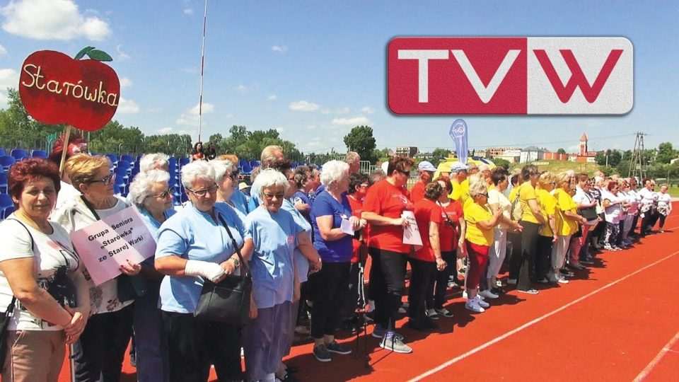 II Olimpiada gminna grup seniorów na stadionie w Warce – 22 maja 2018