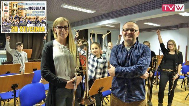 Zaproszenie na noworoczny koncert Orkiestry Moderato 20 stycznia 2019