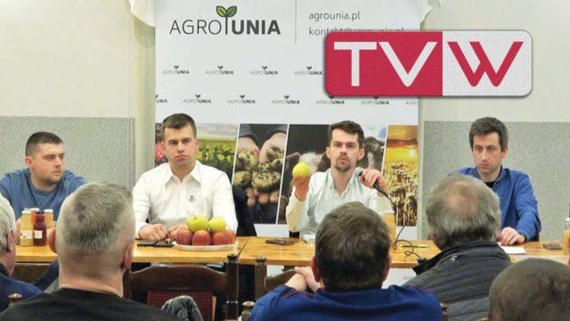 Spotkanie sadowników z Michałem Kołodziejczakiem prezesem Agro Uni – 18 lutego 2019