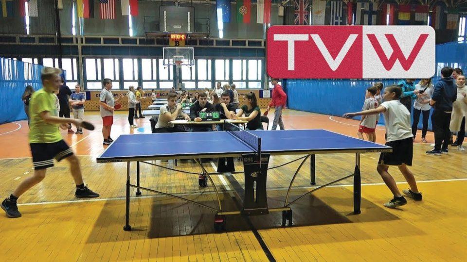Turniej tenisa stołowego szkół podstawowych gminy Warka – 28 luty 2019