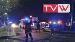 Wieczorny wypadek drogowy na ul. Grójeckiej w Warce – 8 kwietnia 2019