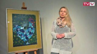 Zaproszenie na wystawę PasteLOVE koguty Agnieszki Kazały 10 kwietnia 2019