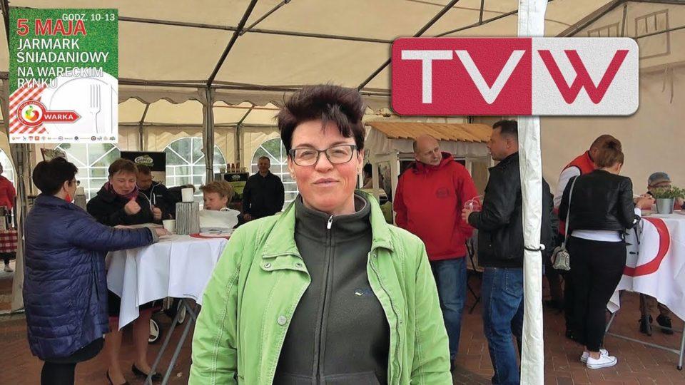 Rok 2019 – 5 maja V Jarmark Śniadaniowy na wareckim rynku