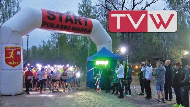 """II Bieg Nocny  """"Warka na dobranoc"""" po Puszczy Stromeckiej – 27 kwietnia 2019"""