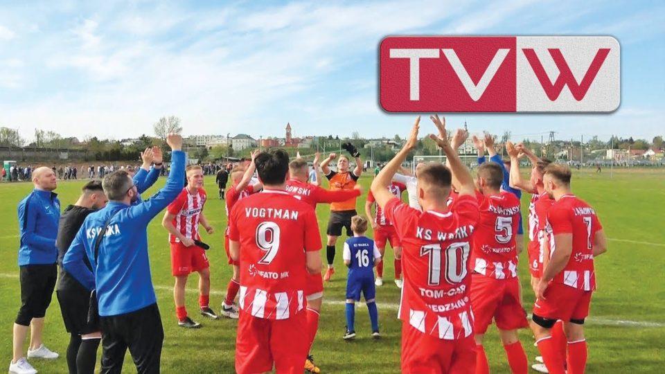 Zwycięski mecz piłki nożnej pomiędzy KS Warka a Proch Pionki – 20 kwietnia 2019