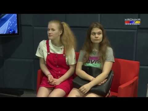 Warsztaty telewizyjne dla grupy młodzieży z Bończy – 4 czerwca 2019