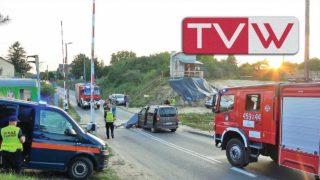 Wypadek na przejeździe kolejowym w Warce – 31 lipca 2019