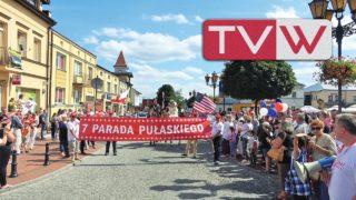 VII Parada Kazimierza Pułaskiego przeszła ulicami Warki – 7 lipca 2019