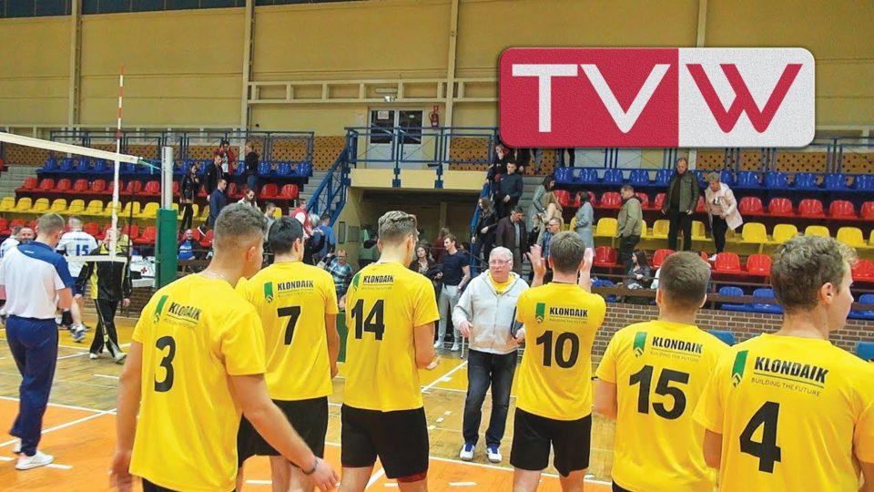 Mecz piłki siatkowej WTS Warka – SPS GOSiR Mrozy – 26 października 2019