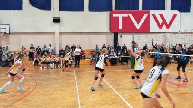 Mecz piłki siatkowej kobiet WTS Warka – MUKS Wojskowe Warszawa – 9 listopada 2019