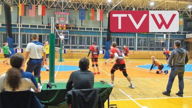 Mecz piłki siatkowej IV ligi WTS Klondaik Warka vs Promotor Gózd – 23 listopada 2019