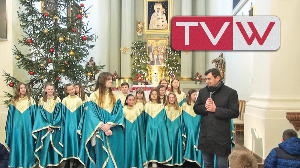 Koncert kolęd i pastorałek w wykonaniu młodzieżowego chóru z SP2 w Warce – 12 stycznia 2020