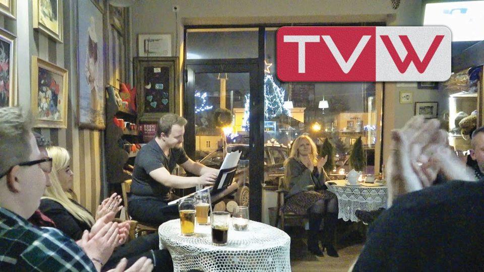 """Koncert """"Piano Warka"""" Sergiusza Cyngota w kawiarence na rynku – 24 stycznia 2020"""