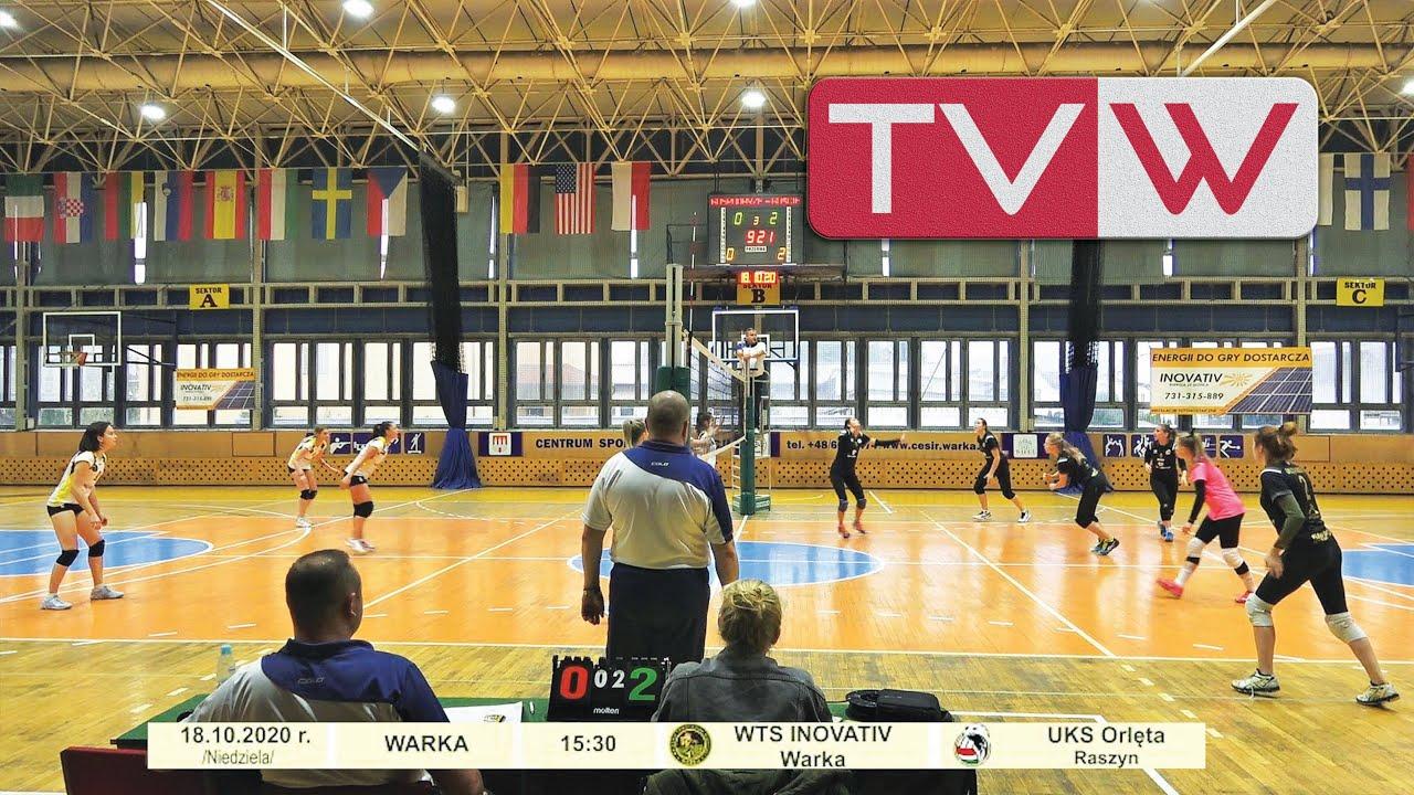Mecz III ligi kobiet WTS Inovativ Warka vs UKS Orlęta Raszyn – 18 października 2020