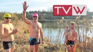 Zimowe pływanie w Pilicy z wareckimi morsami – 6 luty 2021