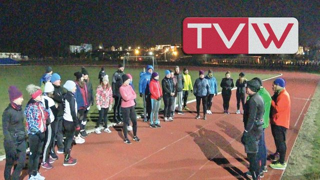 Pierwszy krok biegowy na stadionie miejskim w Warce – 10 marca 2021