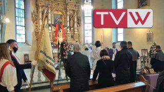 Pożegnanie Koleżanki Elżbiety Grzelewskiej u Św. Mikołaja w Warce – 20 kwietnia 2021