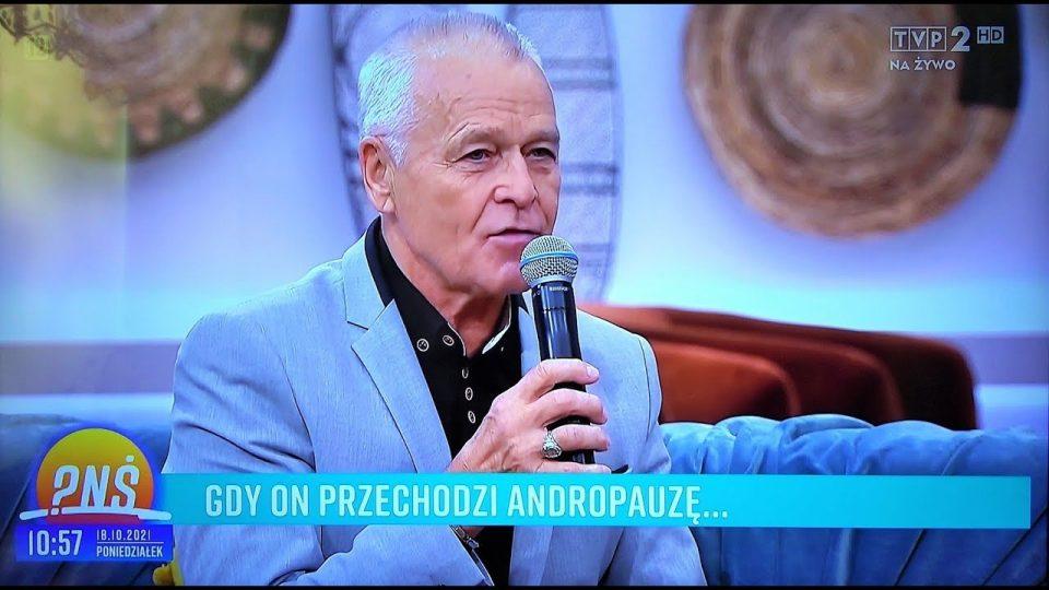 """Andrzeja Kuna z Warki gościem w programie TVP """"Pytanie na Śniadanie"""" – 18 października 2021"""
